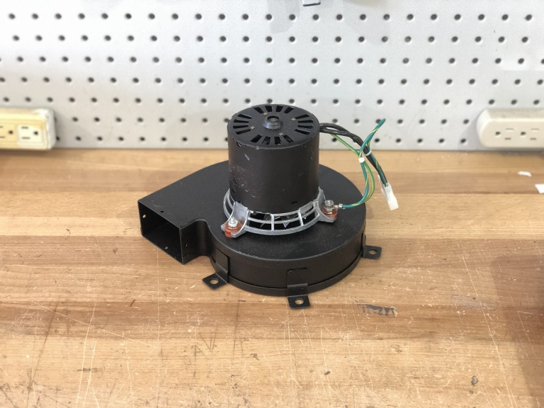 Blower Motor for the NCAT Ignition oven