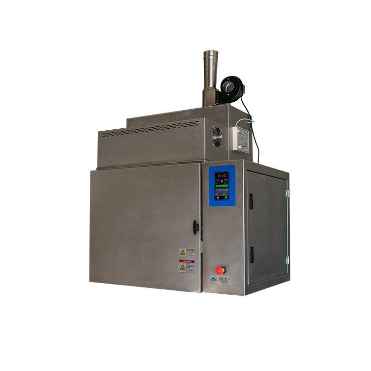 PIE2 Solvent free cleaning oven designed to clean glassware, metal tools, and ceramics