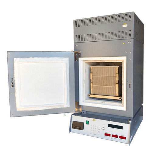 image of an NCAT Ignition oven with a Triple basket in the chamber